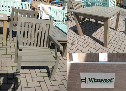 Our Winawood set range including dining sets and coffee sets
